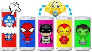 Download Phone Wrong Heads Bad Baby Crying Super Heroes Colors Learn Video