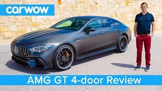 Download New Mercedes-AMG GT 4-door Coupe 2019 REVIEW - see if it's quicker than an E63 S over a 1/4 mile Video