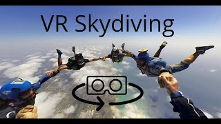 Download 3D 360 VR skydiving experience with the Vuze camera (4K) Video