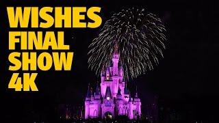 Download Final WISHES Magic Kingdom Fireworks 4K | Walt Disney World Video