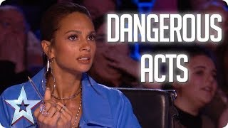 Download MOST DANGEROUS ACTS | Britain's Got Talent 2018 Video