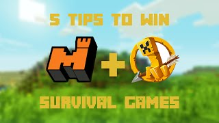 Download Minecraft: 5 Tips to Win Survival Games | Mineplex | Video