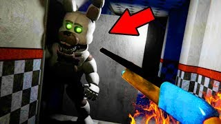 Download YOU CAN DEFEAT THE ANIMATRONICS WITH THIS?! | FNAF Bubbas Diner (NEW ENDING) Video