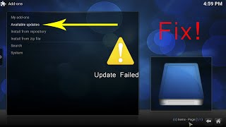 Download Add-ons not Updating/Installing Fix (Kodi/XBMC) Video