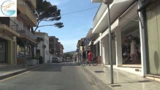 Download Cala Ratjada, Mallorca vom Ortseingang zur Cala Agulla Video