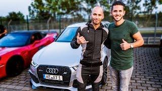 Download Im 735PS ABT Audi RS6 zur Nordschleife!   Daniel Abt Video