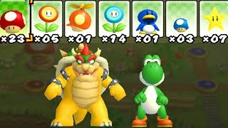 Download What happens when Bowser and Yoshi uses Mario's Power-Ups? 2 Player Co-Op Video