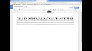 Download GoogleDocs Newspaper Formatting Video