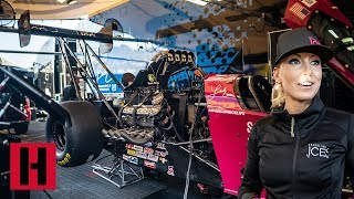 Download Checking in with Leah Pritchett at NHRA Winternationals Video