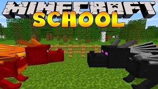 Download Minecraft School : DRAGONS AT THE SCHOOL! Video