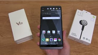 Download LG V20 Unboxing and Impressions! Video