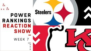 Download NFL Power Rankings Reaction Show: Lots of Movement in Top 5 | NFL Network Video