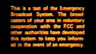 Download WMAQ Emergency Broadcast System Test - Saturday, November 1981 12 PM Video