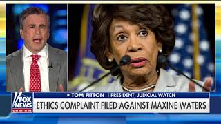 Download 'Consider Expelling Her': Judicial Watch Files Ethics Complaint Against Maxine Waters Video