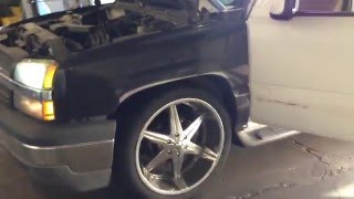 Download Chevy Tahoe shaking, vibrating, death wobble... Video