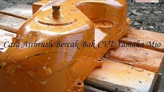 Download Cara Airbrush Bercak Bak CVT Yamaha Mio Video