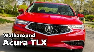 Download 2018 Acura TLX Advance Package Walkaround, Driving Video