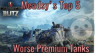 Download WoT Blitz: Top 5 worst premium tanks. Video