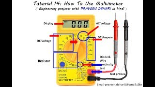 Download How To Use Multimeter : Tutorial 14 Video