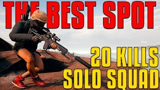 Download THE BEST SPOT - 20 Kills, Solo Squad | PUBG Video