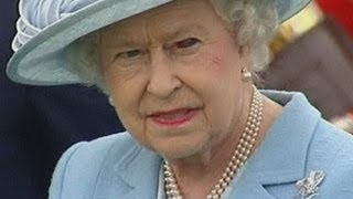 Download Queen sports a bloodshot eye at polo match Video