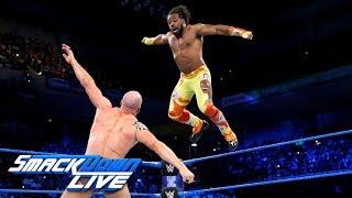 Download Xavier Woods vs. Cesaro: SmackDown LIVE, May 8, 2018 Video