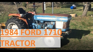 Download I bought a 1984 Ford 1710 tractor. Video