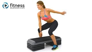 Download Fat Burning Cardio Step Workout for Butt and Thighs - Step Aerobics Workout Video Video