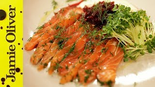 Download Jamie's Perfect Party Food : Salmon Gravadlax Video