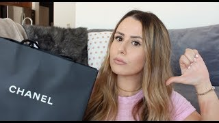 Download HEY CHANEL! WHAT'S WRONG WITH YOUR RUDE SALES ASSOCIATES?! + CHANEL UNBOXING Video