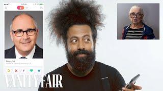 Download Reggie Watts Hijacks a Stranger's Tinder | Vanity Fair Video