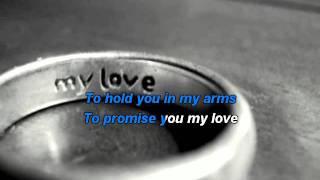 Download Westlife - My Love karaoke with lyrics Video