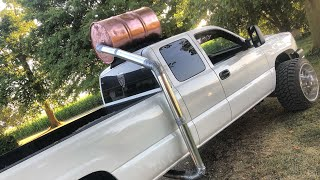 Download Duramax gets Front Facing Roof Stack for Millions of Horsepower Video