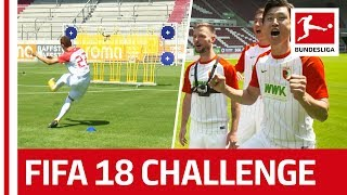 Download Koo, Ji & Co. - EA SPORTS FIFA 18 Bundesliga Free Kick Challenge - FC Augsburg Video