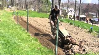Download 1949 Gravely Model L Rotary Plowing The Garden Video