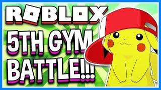 Download 5TH GYM BATTLE POKEMON BRICK BRONZE | Roblox Pokemon Brick Bronze Live Stream Video