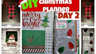 Download DIY Christmas Planner | Day 2 of 12daysofChristmaswithBianca Video