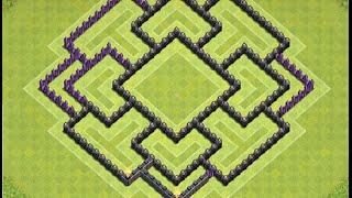 Download Diseño de aldea Defensiva ayuntamiento nivel 8 Video