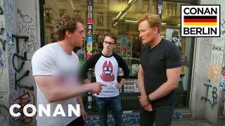 Download Conan Gets An In-Person Fan Correction From A German Super Fan - CONAN on TBS Video
