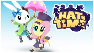 Download Fluttershy plays A Hat in Time 🍉 | feat. Angel Bunny! Video
