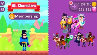 Download Bowmasters Mega MOD UNLIMITED GEMS & COINS | Diamond Membership Video