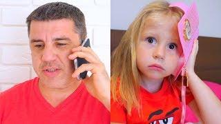 Download Nastya و papa ألعاب مسلية جديدة Video