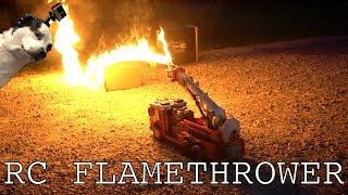 Download Flamethrower RC FIRETRUCK Video