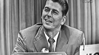 Download What's My Line? - Ronald Reagan (Jul 19, 1953) [W/ COMMERCIALS] Video