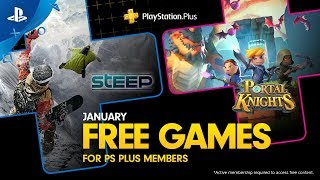 Download PlayStation Plus - Free Games Lineup January 2019   PS4 Video