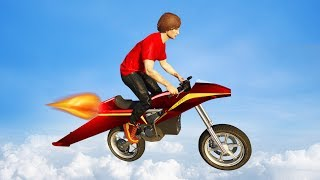 Download ULTIMATE FLYING JET MOTORBIKE! (GTA 5 Funny Moments) Video