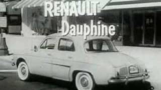 Download Renault Dauphine Classic TV Commercial (1958) Video