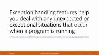 Download Internals of Exceptions - Adam Furmanek Video