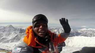 Download Amazing video from top of Mount Everest: Anand Kumar on peak Video