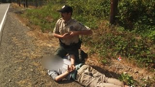Download Subject Resists Arrest, Chased Down by Fish and Wildlife Officer Video